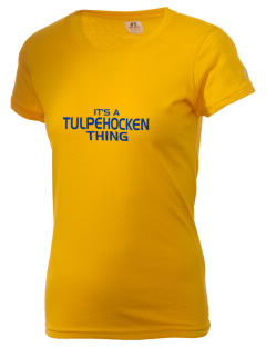 Tulpehocken High School Trojans  Russell Women's Campus T-Shirt