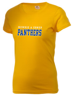 Mowrie A Ebner Elementary School Panthers  Russell Women's Campus T-Shirt