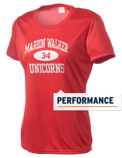 Marion Walker Elementary School Unicorns Women's Competitor Performance T-Shirt
