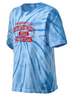 South Saint Marys Elementary School Dutchmen Kid's Tie-Dye T-Shirt