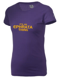 Ephrata Area Middle School Mountaineers  Russell Women's Campus T-Shirt