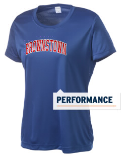 Brownstown Elementary School Buckskins Women's Competitor Performance T-Shirt