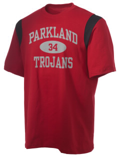 Parkland High School Trojans Holloway Men's Rush T-Shirt