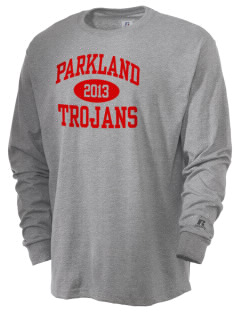 Parkland High School Trojans  Russell Men's Long Sleeve T-Shirt