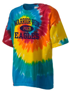 Warrior Run Middle School Eagles Kid's Tie-Dye T-Shirt