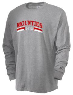 West Snyder High School Mounties  Russell Men's Long Sleeve T-Shirt