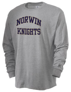 Norwin High School Knights  Russell Men's Long Sleeve T-Shirt