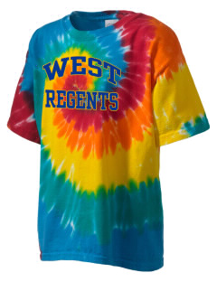 West High School Regents Kid's Tie-Dye T-Shirt