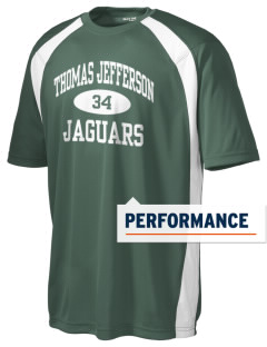 Thomas Jefferson Elementary School Jaguars Men's Dry Zone Colorblock T-Shirt