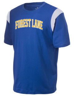 Forest Lane Elementary School Hill Toppers Holloway Men's Rush T-Shirt