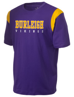 Burleigh Elementary School Vikings Holloway Men's Rush T-Shirt