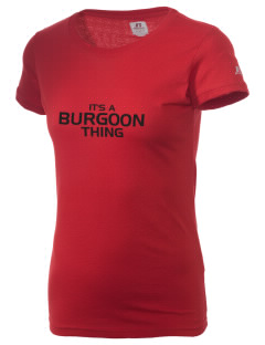 Burgoon Elementary School Burgoonies  Russell Women's Campus T-Shirt