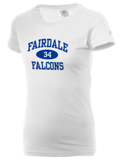 Fairdale Elementary School Falcons  Russell Women's Campus T-Shirt
