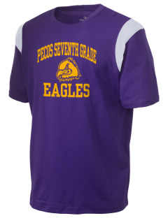 Pecos Seventh Grade School Eagles Holloway Men's Rush T-Shirt