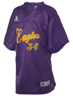 Pecos Seventh Grade School Eagles Russell Kid's Replica Football Jersey