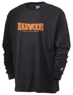 Harwood Junior High School Blackhawks  Russell Men's Long Sleeve T-Shirt