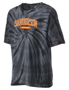 Sanderson High School Eagles Kid's Tie-Dye T-Shirt