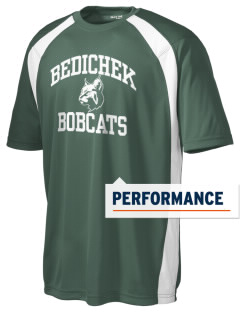 Bedichek Middle School Bobcats Men's Dry Zone Colorblock T-Shirt