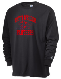 Patti Welder Middle School Panthers  Russell Men's Long Sleeve T-Shirt