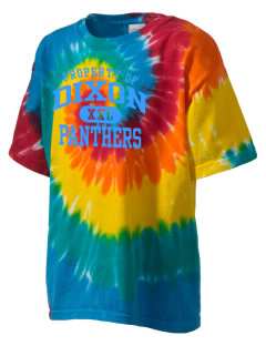 Dixon Middle School Panthers Kid's Tie-Dye T-Shirt