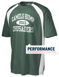 Camels Hump Middle School Crusaders Men's Dry Zone Colorblock T-Shirt