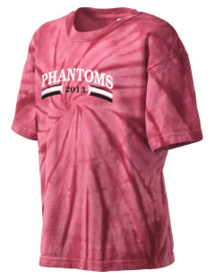 Proctor Elementary School Phantoms Kid's Tie-Dye T-Shirt