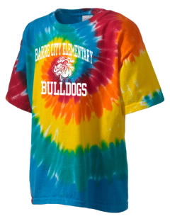 Barre City Elementary Middle School Bulldogs Kid's Tie-Dye T-Shirt