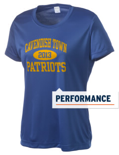 Cavendish Town Elementary School Patriots Women's Competitor Performance T-Shirt