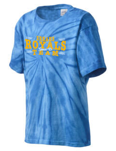 South Royalton Elementary And High Royals Kid's Tie-Dye T-Shirt