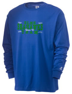 South Lakes High School Seahawks  Russell Men's Long Sleeve T-Shirt