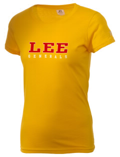 Lee High School Generals  Russell Women's Campus T-Shirt