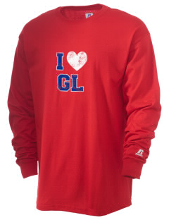 Gilbert Linkous Elementary School Indians  Russell Men's Long Sleeve T-Shirt