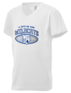 La Center High School Wildcats Kid's V-Neck Jersey T-Shirt