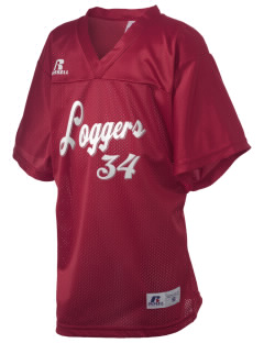 Lincoln Elementary School Loggers Russell Kid's Replica Football Jersey