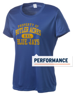 Butler Acres Elementary School Blue Jays Women's Competitor Performance T-Shirt