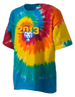 Rose Valley Elementary School Panthers Kid's Tie-Dye T-Shirt