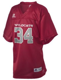 Ocosta Elementary School Wildcats Russell Kid's Replica Football Jersey