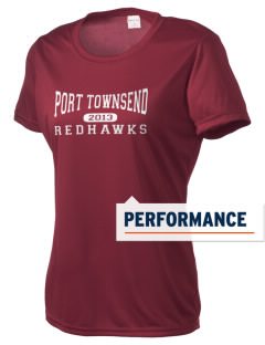 Port Townsend Senior High School Redskins Women's Competitor Performance T-Shirt