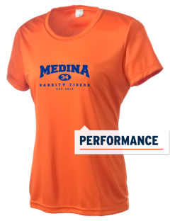 Medina Elementary School Tigers Women's Competitor Performance T-Shirt