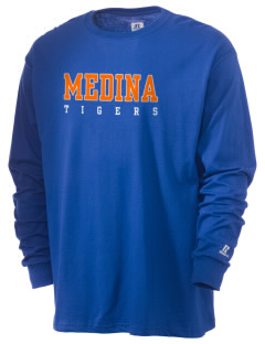 Medina Elementary School Tigers  Russell Men's Long Sleeve T-Shirt