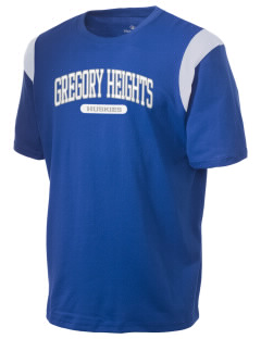 Gregory Heights Elementary School Huskies Holloway Men's Rush T-Shirt