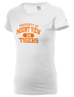Mount View Elementary School Tigers  Russell Women's Campus T-Shirt