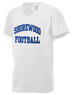 Shorewood Elementary School Seagulls Kid's V-Neck Jersey T-Shirt