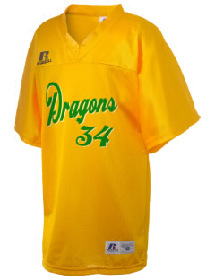 Valley View Elementary School Dragons Russell Kid's Replica Football Jersey