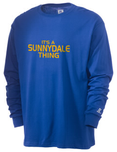 Sunnydale Elementary School Suns  Russell Men's Long Sleeve T-Shirt