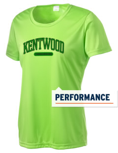 Kentwood High School Conquerors Women's Competitor Performance T-Shirt