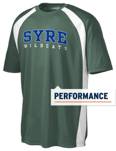 Syre Elementary School Wildcats Men's Dry Zone Colorblock T-Shirt