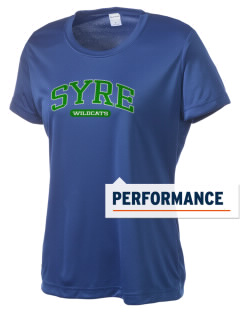 Syre Elementary School Wildcats Women's Competitor Performance T-Shirt