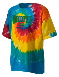 Woodinville High School Falcons Kid's Tie-Dye T-Shirt