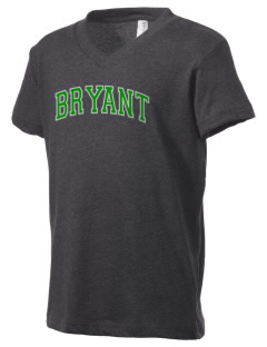 Bryant Elementary School Dragons Kid's V-Neck Jersey T-Shirt